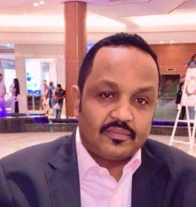 Somali male Member of Parliament, Abdiaziz Salah Arman