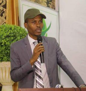 Somali male Member of Parliament, Abdulfatah Kasim Mohamud