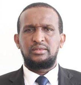 Somali male Member of Parliament, Abdulkadir Osoble Ali