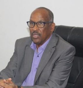 Somali Male Member of Parliament and Minister of Education