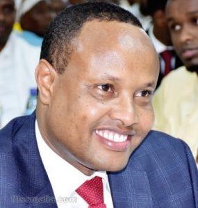 Somali Male Member of Parliament, Abdullahi Mohamed Nor