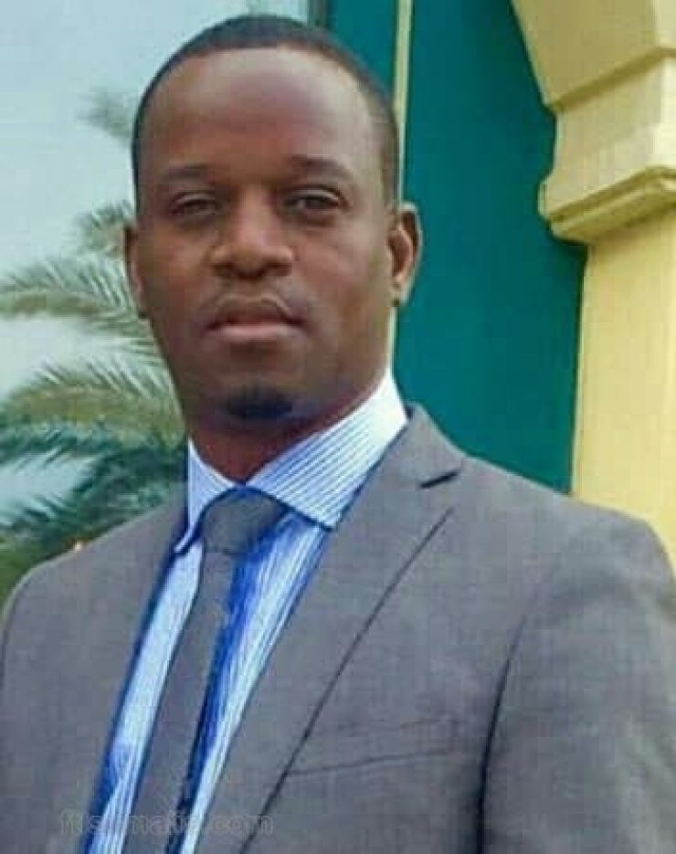 Somali Male, Member of Parliament, Abdullahi Olad Roble