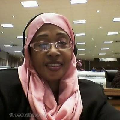 Somali women MP, Bibi Khalif Mohamed profile Picture