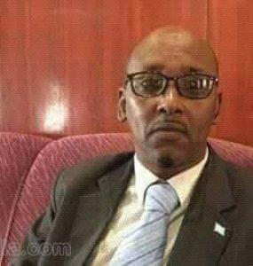 Somali male, Member of Parliament, Dahir Amin Jesow