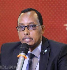 Somali Male Member of Parliament, Dr. Hussein Abdi Elmi