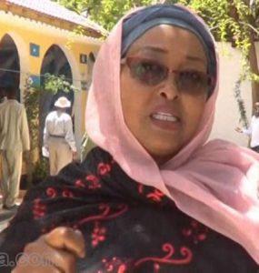 Somali Female Member of Parliament, Drs. Maryan Ahmed Harun