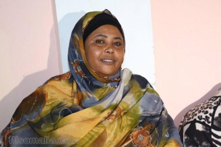 Somali Female Member of Parliament, Fadumma Farah Ibrahim