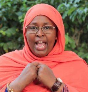 Somali Female Member of Parliament, Farhia Mumin Ali