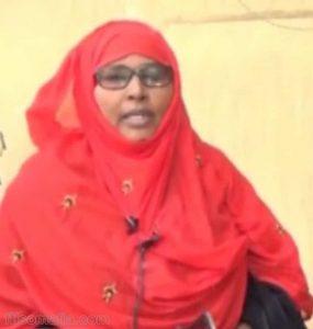 Somali Female Member of Parliament, Farhiyo Mohamud Dhakane