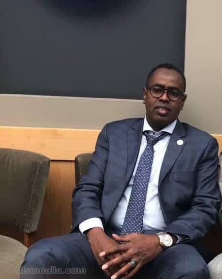 MP Omar Ismail Waberi profile