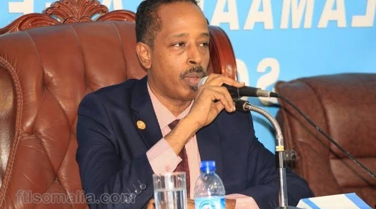 Somalie male, Second Deputy Speaker, Mahad Aabdalla Aawad profile picture