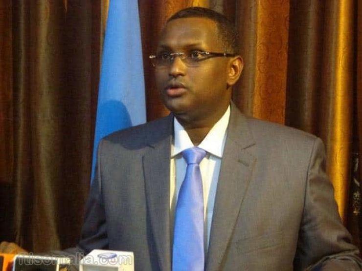 Somali male MP,Mahad Mohamed Salad profile picture