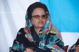 Somali female member of parliament, Maryan Abdi Gedi