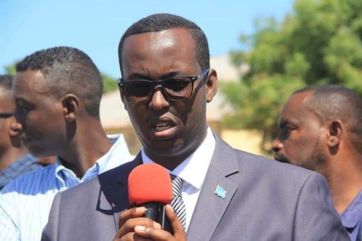Somali Male Member of Parliament, Mohamud Abukaato