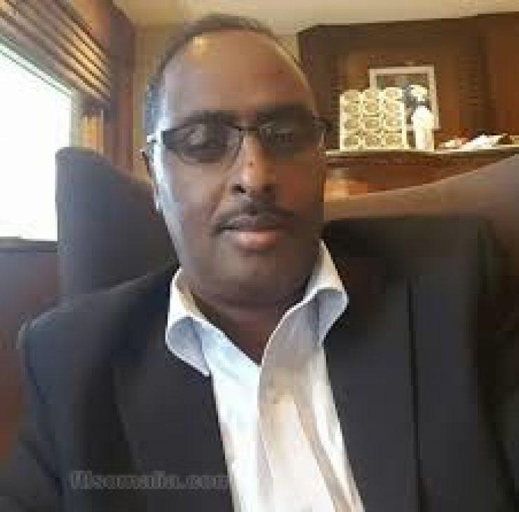 Somali male Member of Parliament, Nuur Iidow Beyle