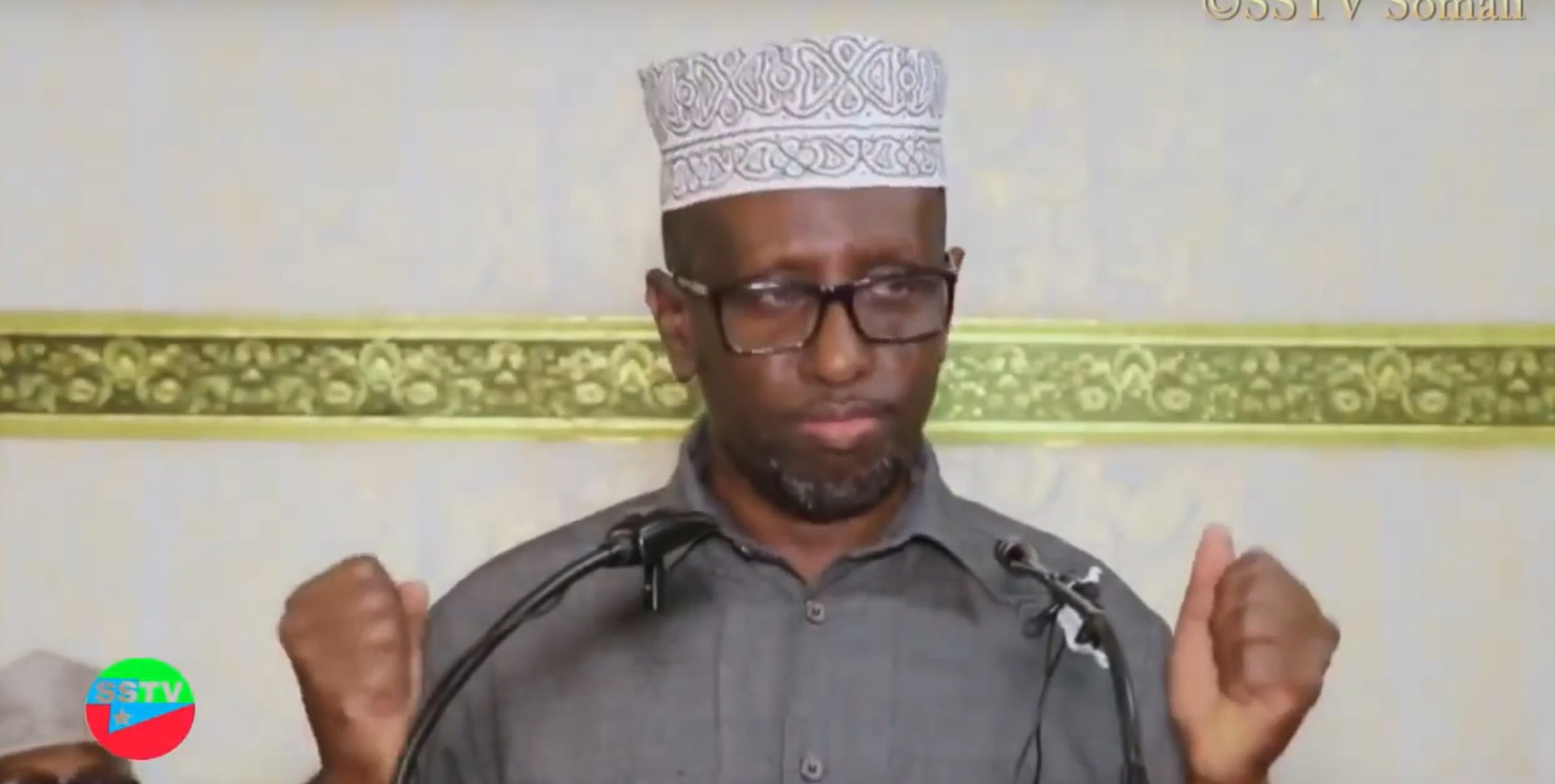 Sharif Sheikh Ahmed, former President of Somalia