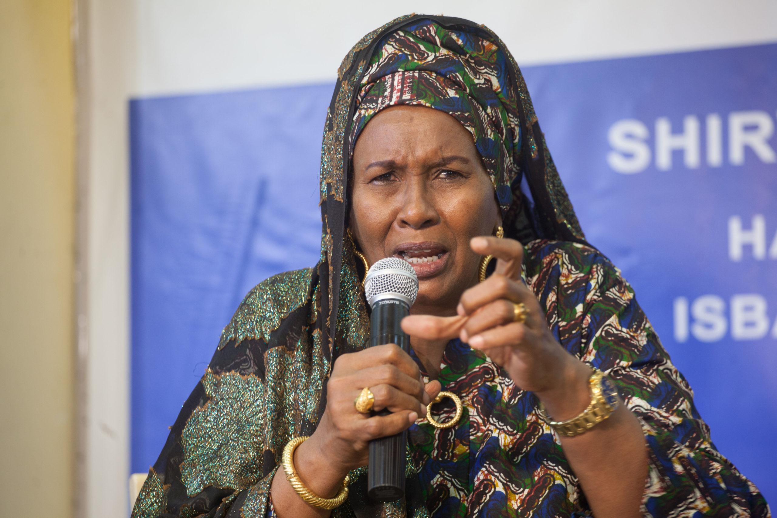 Somali Female Member of Parliament