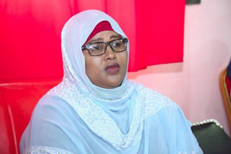 Somali Female, Member of Parliament, Samira Hassan Abdulle