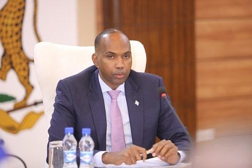 Prime Minister of Somalia Hassan Ali Khayre
