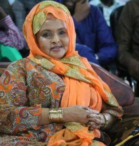 Somali female Member of Parliament, Ubah Tahlil Warsame