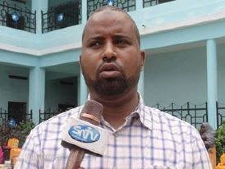 Somali Male Member of Parliament, Yusuf Hayle Jimalle
