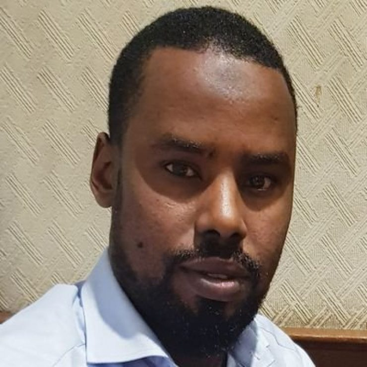 Somali Male, Member of Parliament, Yusuf Hussein Ahmed