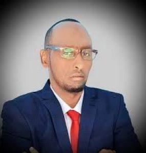 Somali Male, Member of Parliament, Yusuf Ibrahim Afrah