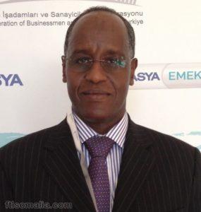 Somali Minister of Interior, Abdi Mohamed Sabriye