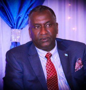 Somali Male, Member of Parliament, Abdifatah Mohamed Ali