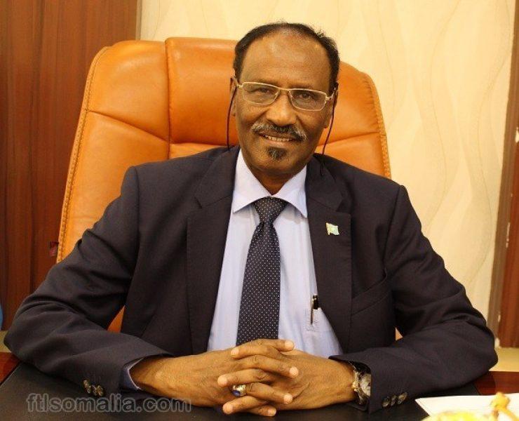 Minister Dr. Abdirahman Dualeh Beileh M