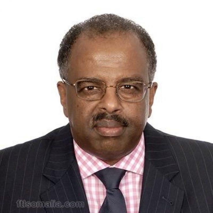Minister Abdirahman Mohamed Abdi Hashi