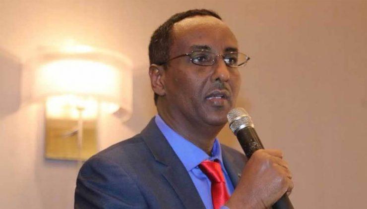 Somali Male, Member of Parliament