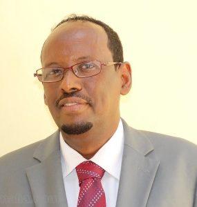 Minister Abdullaahi Ali Hassan M