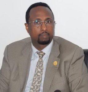 Somali Male, Member of Parliament, Abdullahi Abukar Haji