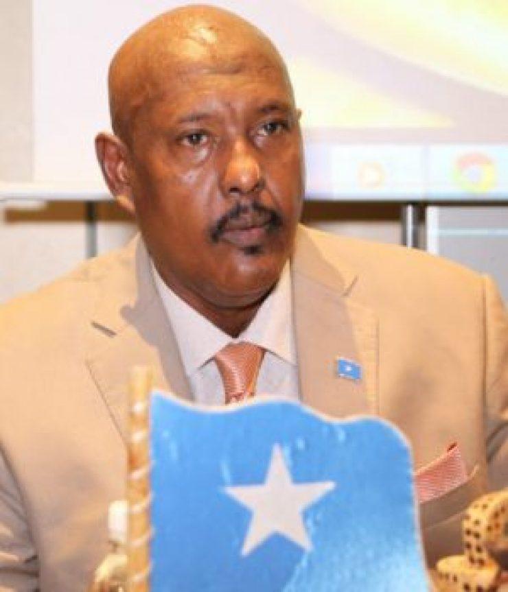Somali Male, Member of Parliament, abdullahi Maxamed Aadan Shaa,ir