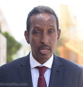 Minister Ahmed Ise Awad