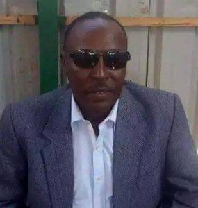 Somali Male, Member of Parliament, Ali Mohamed Muse