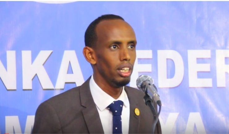 Somali Male, Member of Parliament, Hassan Abdi Ismail