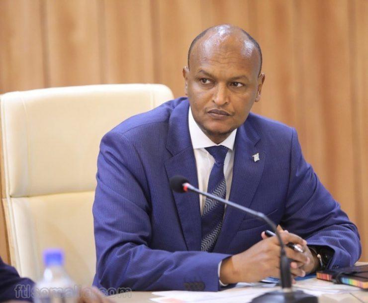 Somali Deputy Prime Minister Mahdi Ahmed Guuleed KHADAR