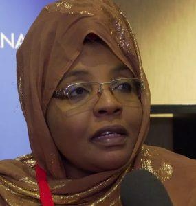 Somali Female, Member of Parliament, Mariam Aweis Jama
