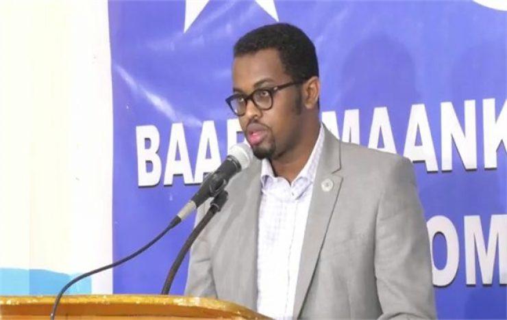 Somali Male, Member of Parliament, Mohamed Adam Moalim Ali