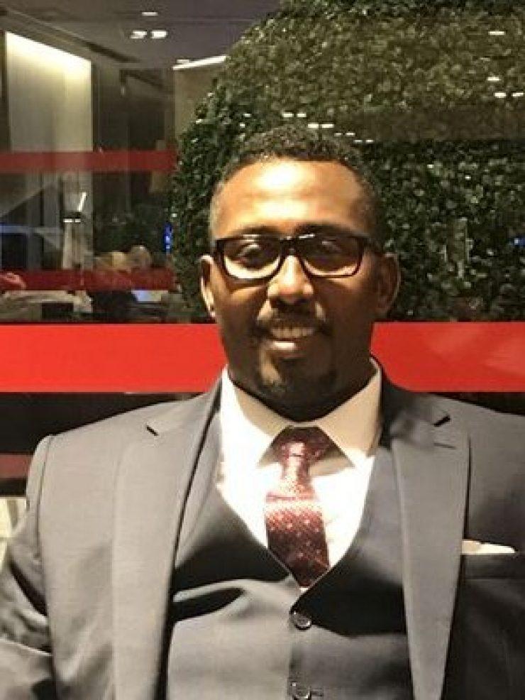 Somali Male, Member of Parliament, Mohamed Ali Omar