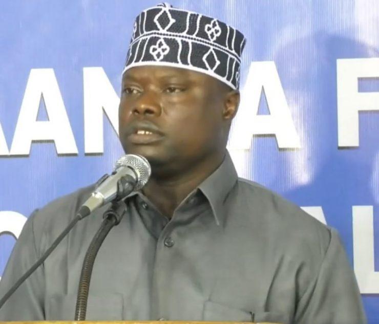 Somali Male, Member of Parliament, Mohamed Nur Iftin