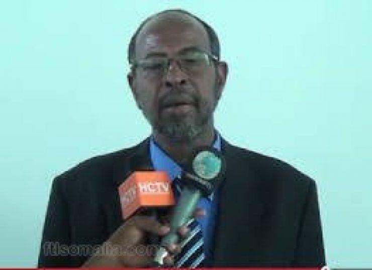 Somali Male, Member of Parliament, Mohamud Ali Magan
